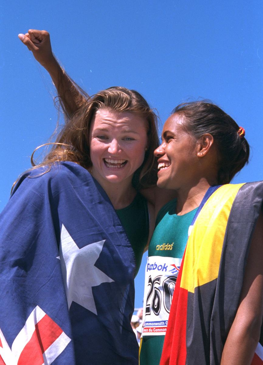 1994 Commonweath Games Victoria -  Melinda and Cathy
